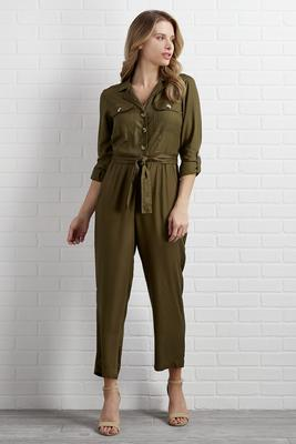 down-to-earth utility jumpsuit