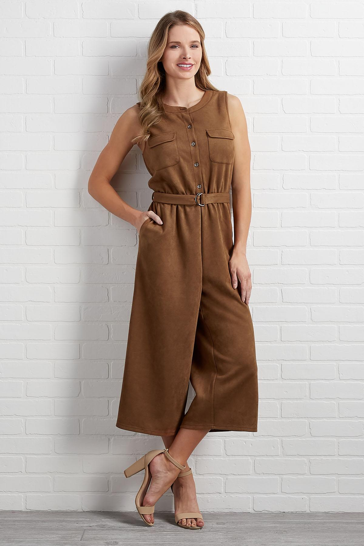 Suede To The Music Jumpsuit