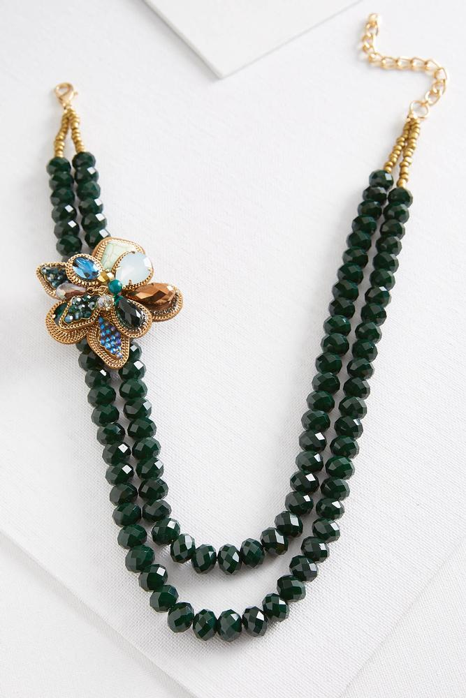 Broach And Necklace Set