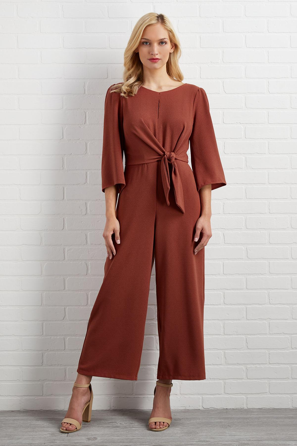 What's Knot To Love Jumpsuit