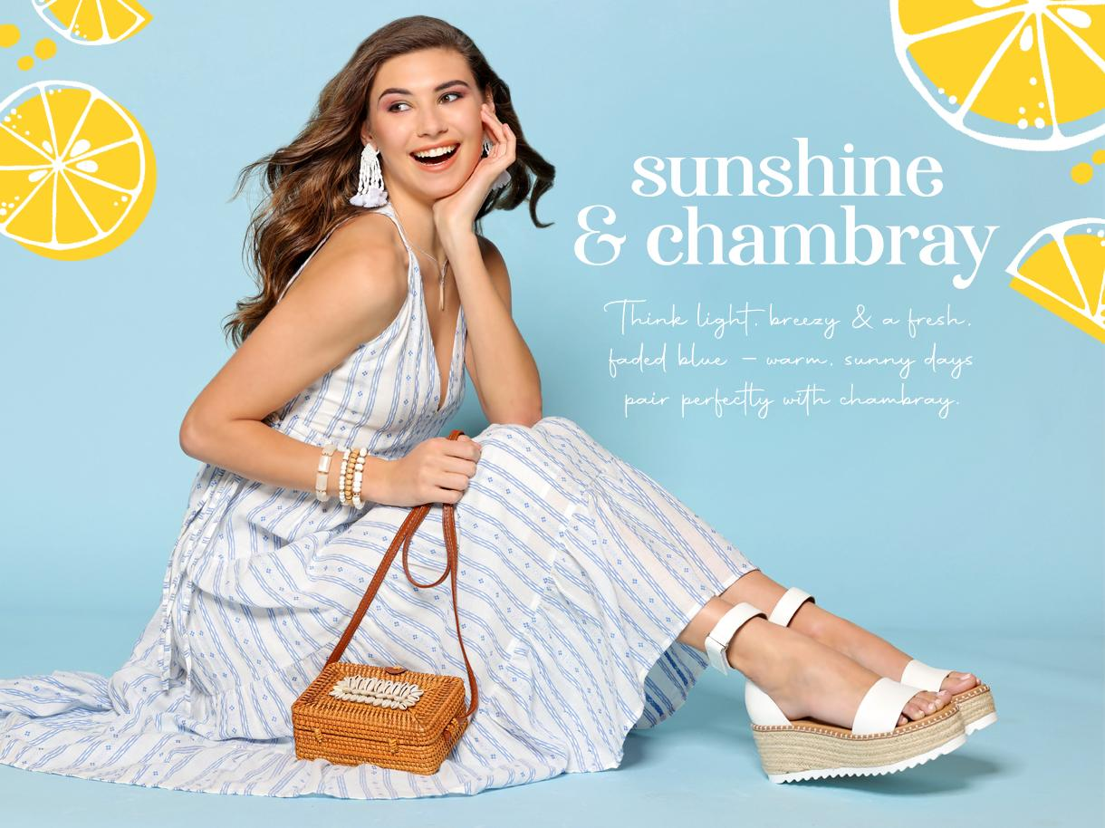 Sunshine and Chambray collection