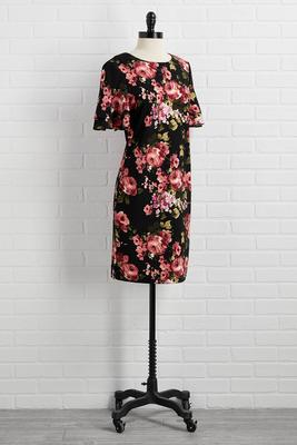big florals don`t cry dress