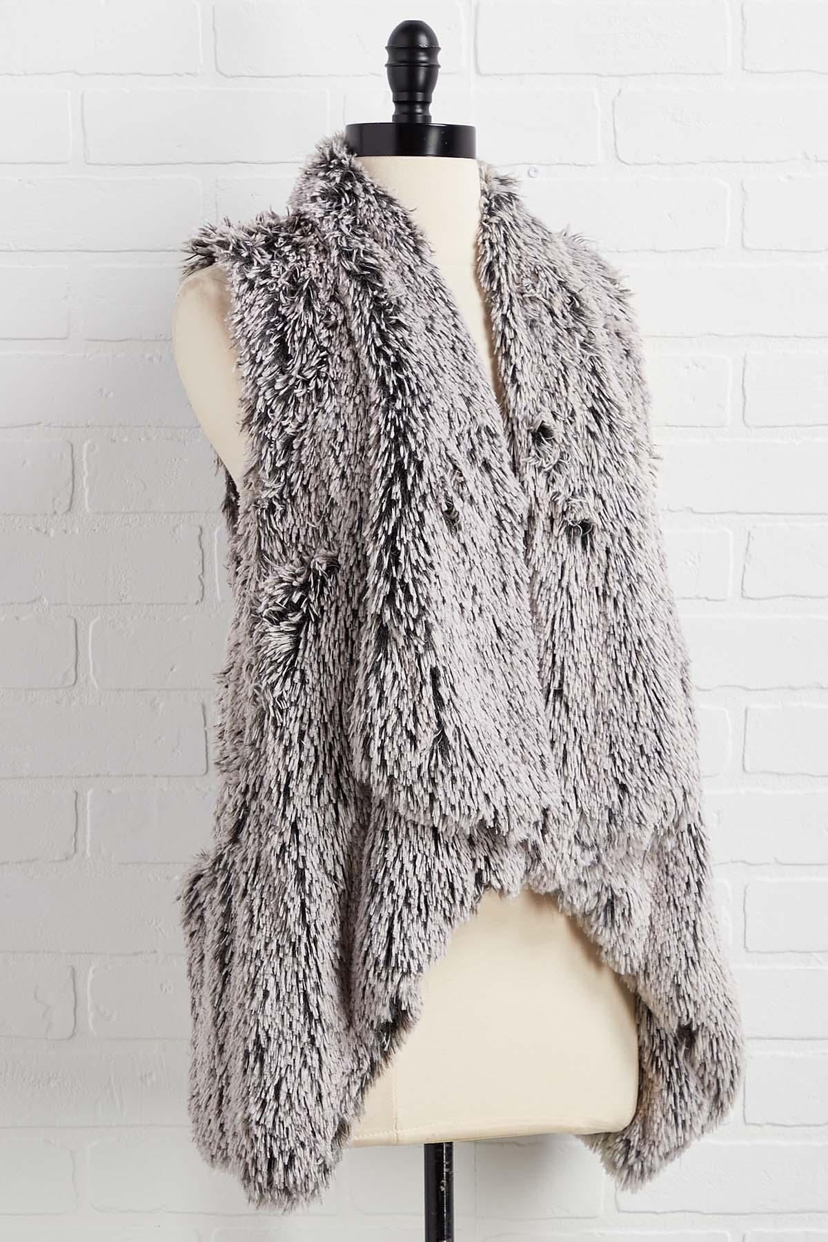 Warm And Fuzzy Feelings Vest