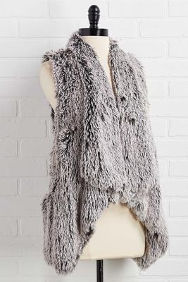warm and fuzzy feelings vest