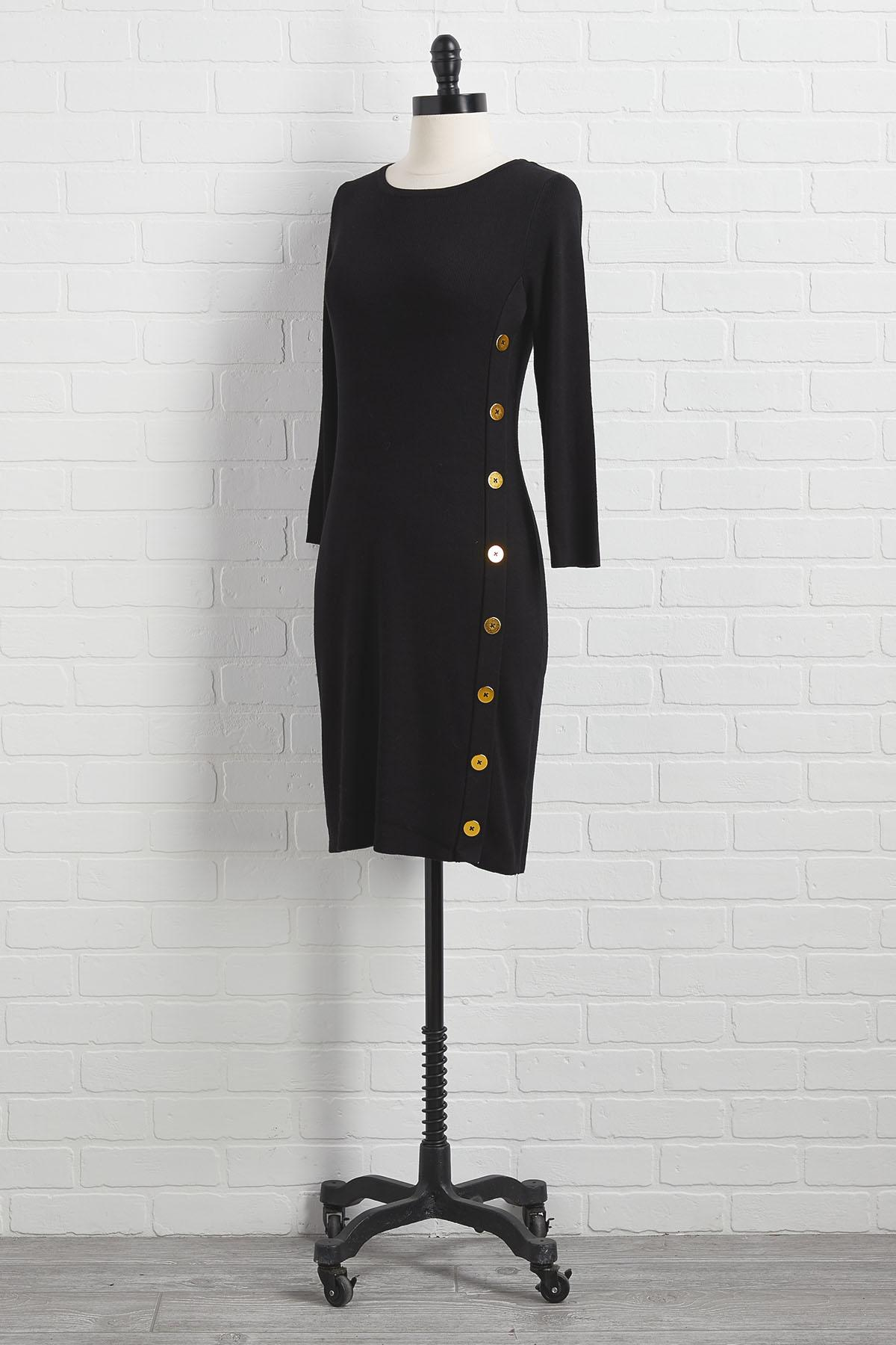 Chills And Thrills Sweater Dress