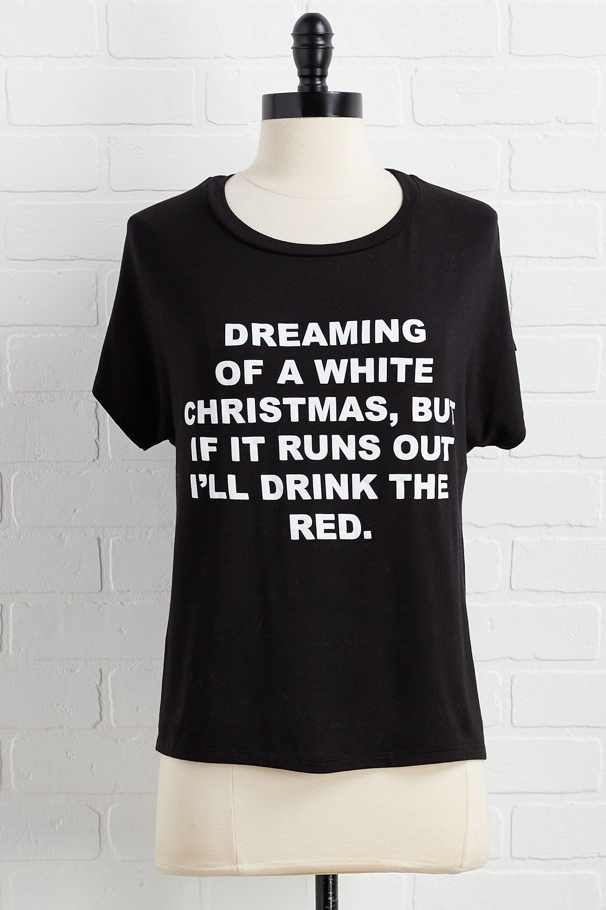 Dreaming Of White Tee