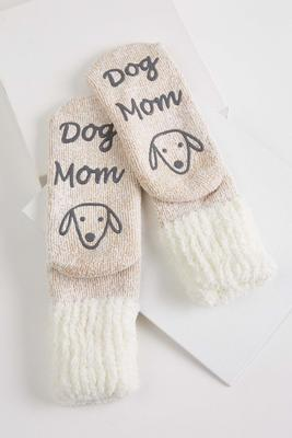 cozy dog mom slipper socks