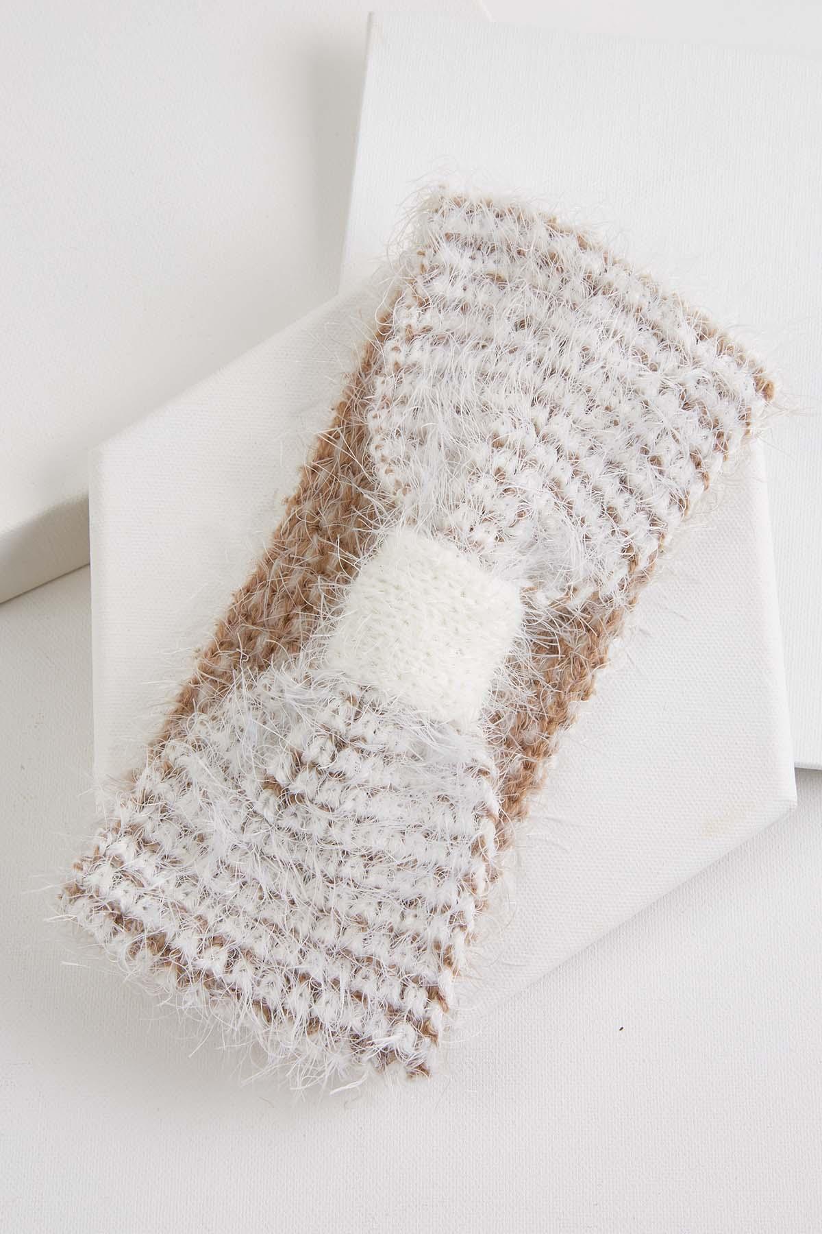 Cozy Eyelash Head Wrap