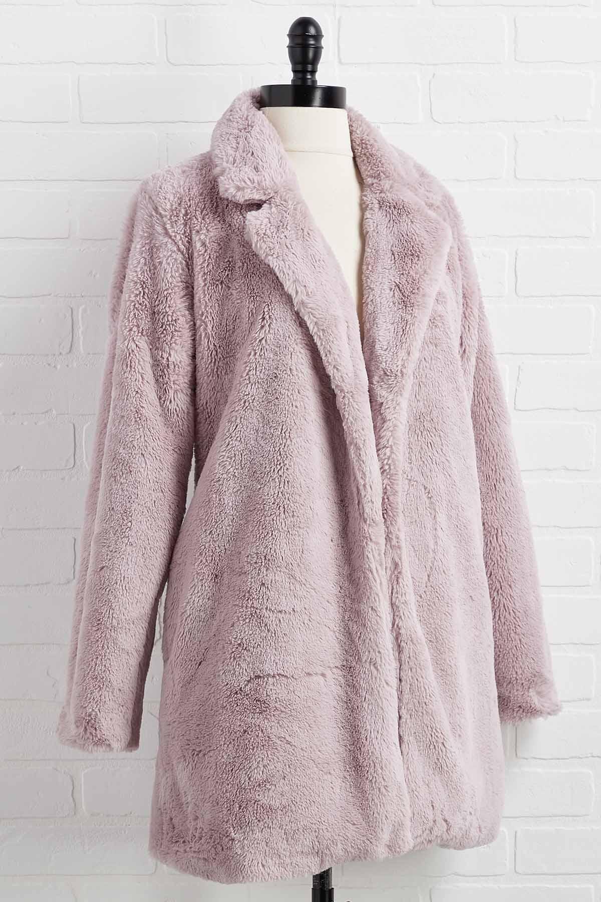 In Fur The Long Haul Jacket