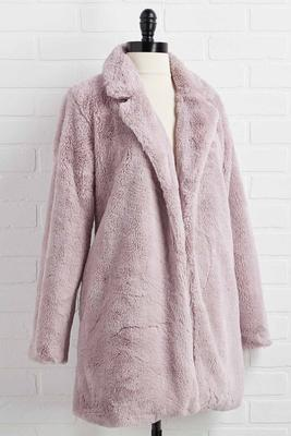 in fur the long haul jacket
