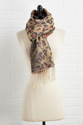 wild for winter scarf