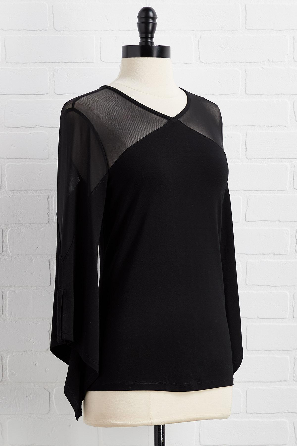 Don ` T Mesh With Me Top