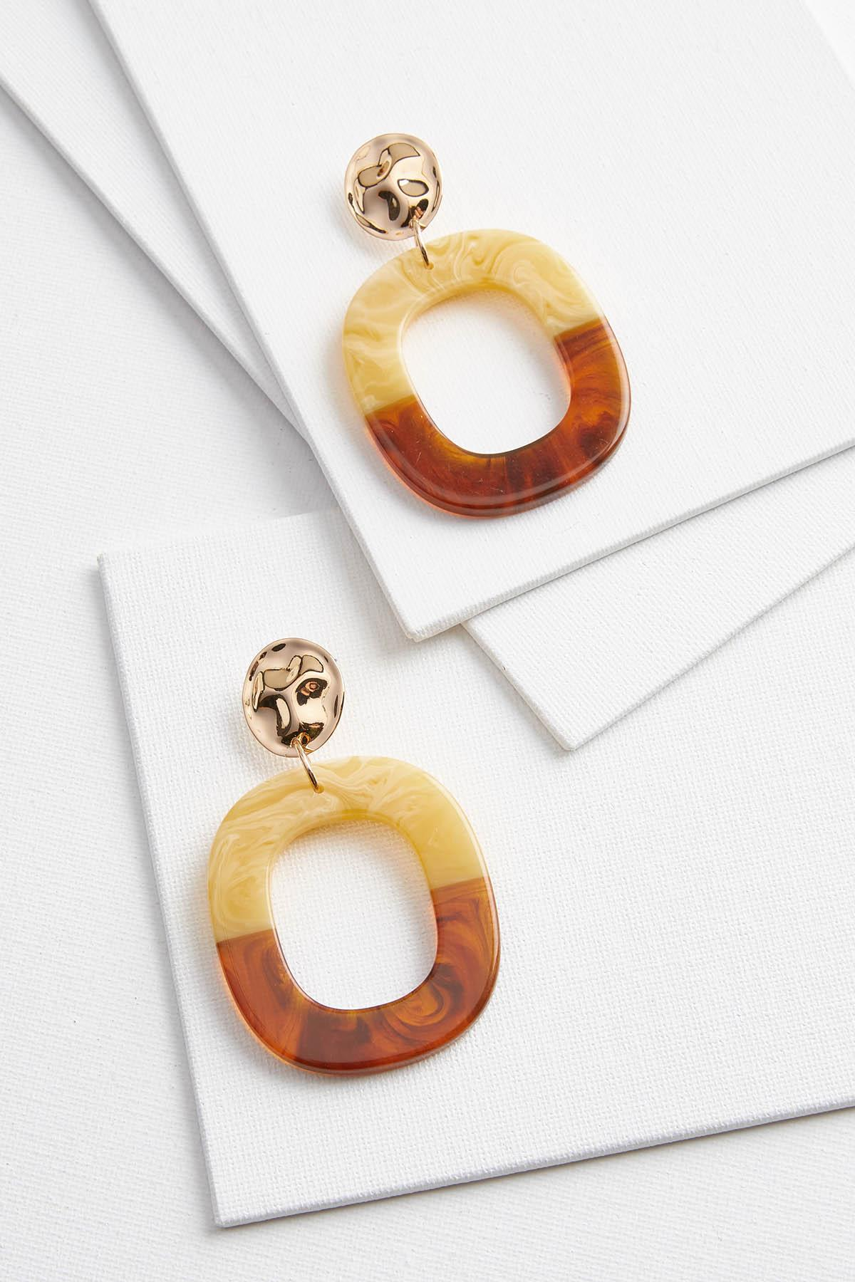 Semi Lucite Earrings