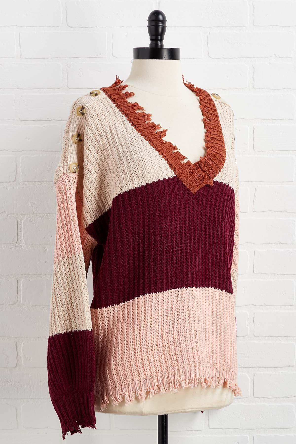 Damsel In Distressed Sweater