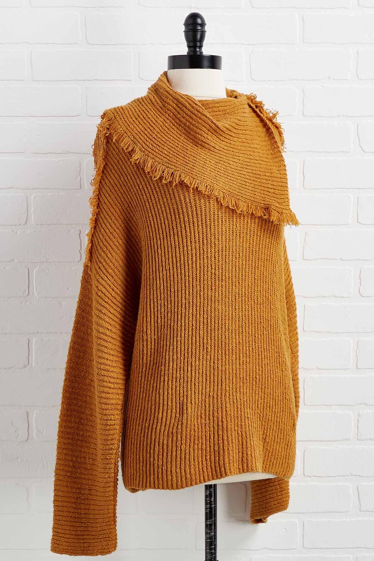Fringe And Things Sweater