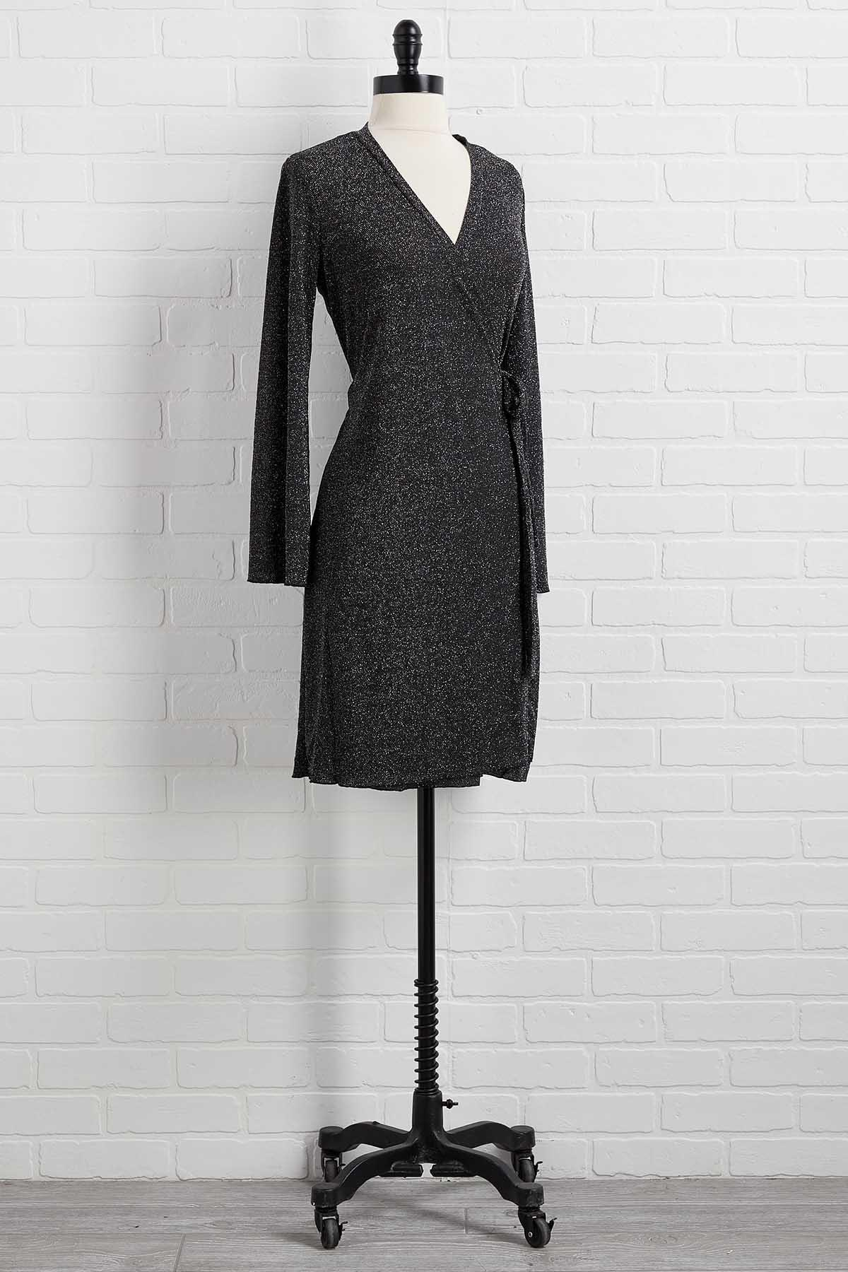 Shining Star Wrap Dress