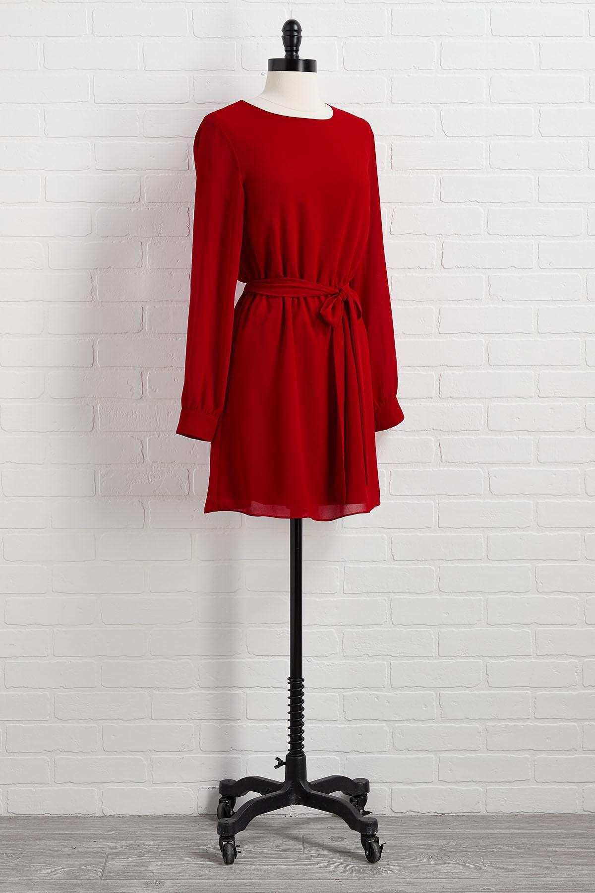 Burnin ` Up Mini Dress