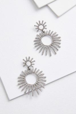 statement starburst earrings