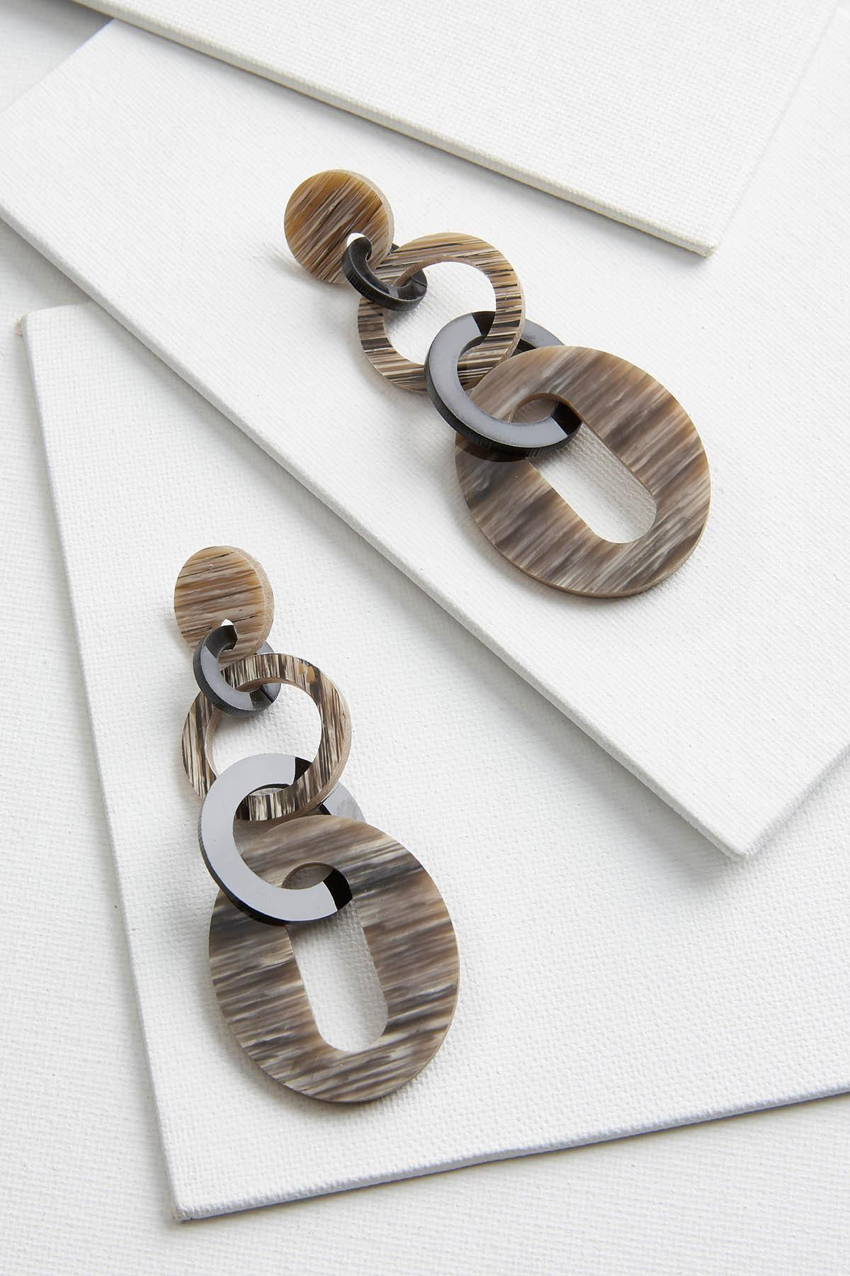 Lucite Link Earrings