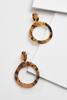 Double Hoop Tort Earrings