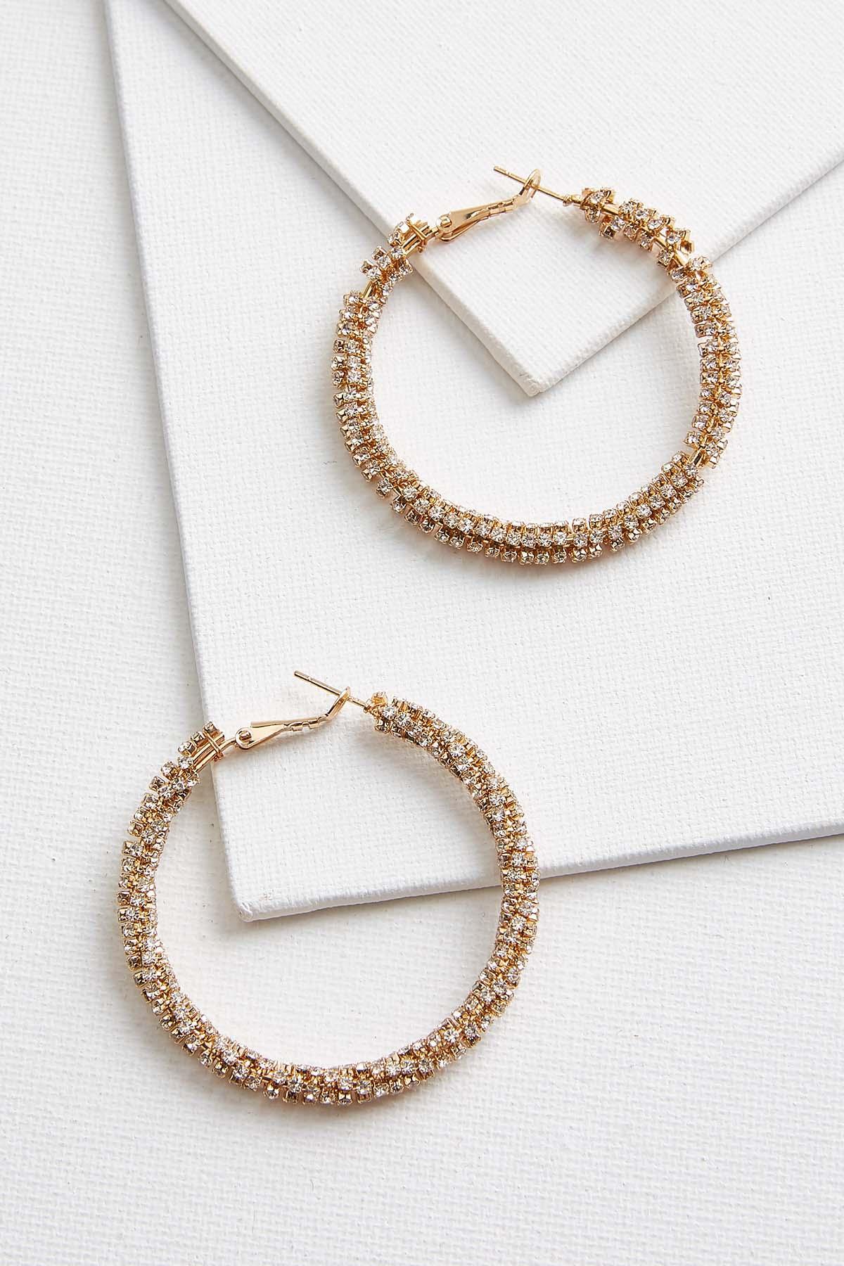Blingy Hoop Earrings