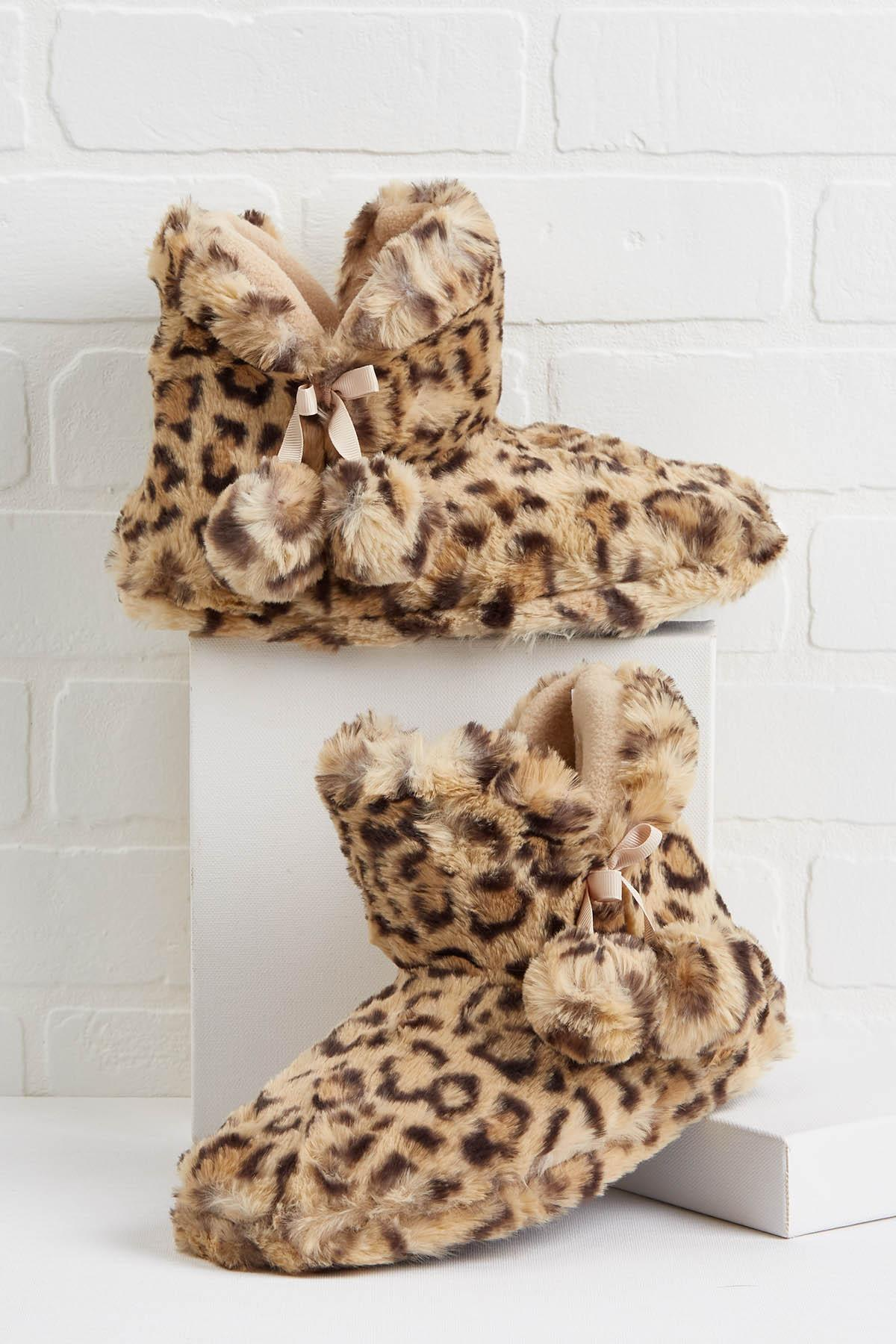In Fur The Evening Boots