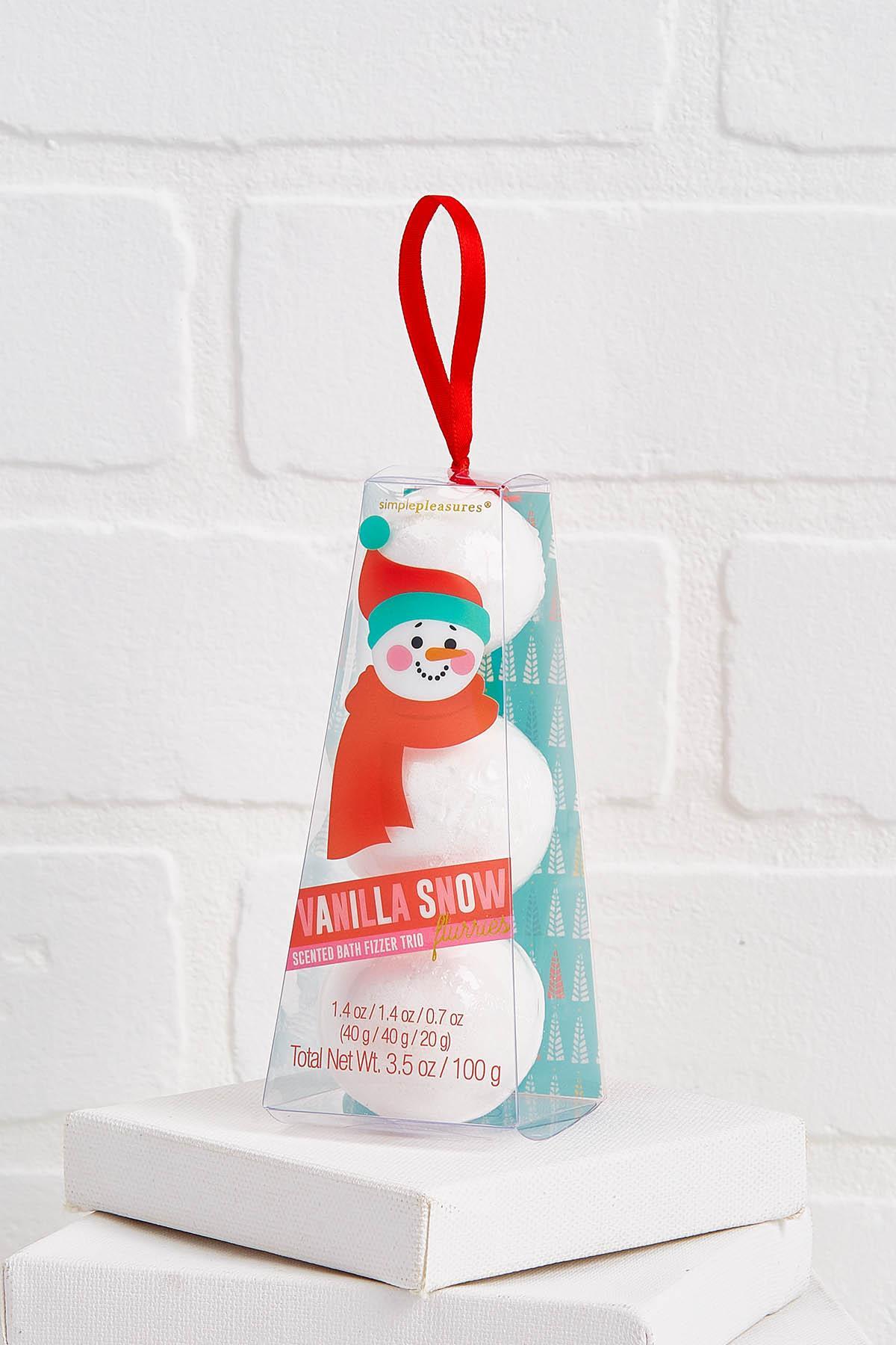 Vanilla Snow Bath Fizzies