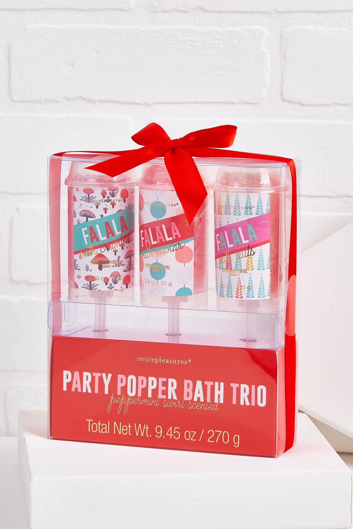 Bath Popper Set