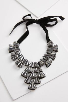 jeweled bib necklace