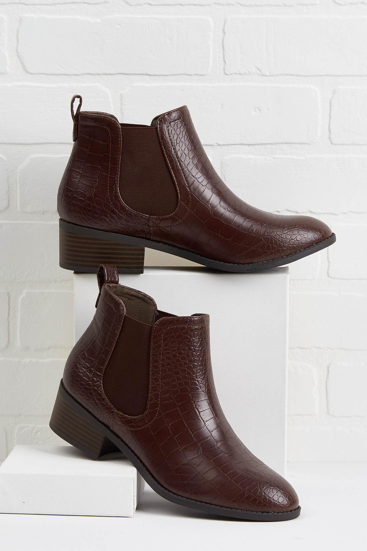 Croc Out Booties