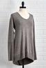 Fireside Nights Gray Hacci Tunic