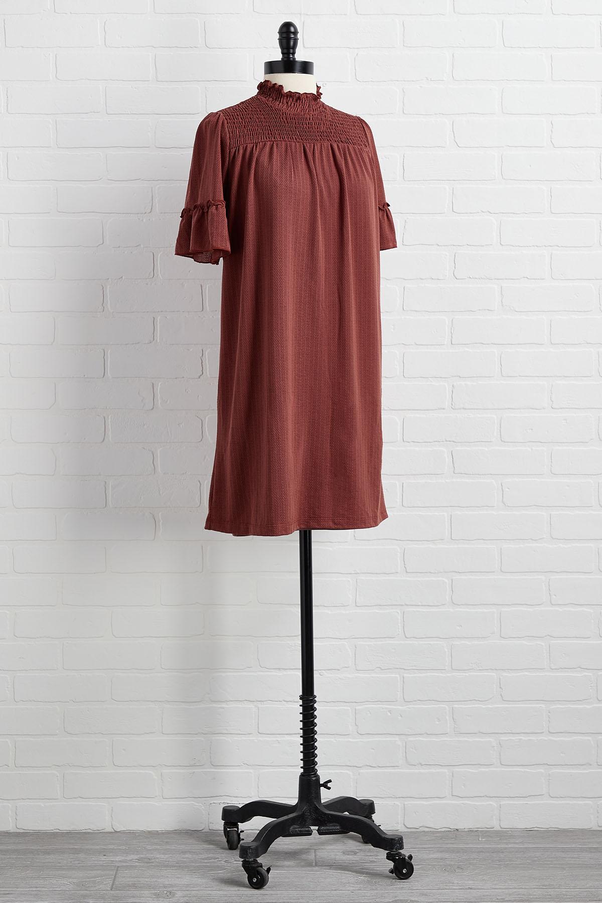 Bit Of A Stretch Babydoll Dress