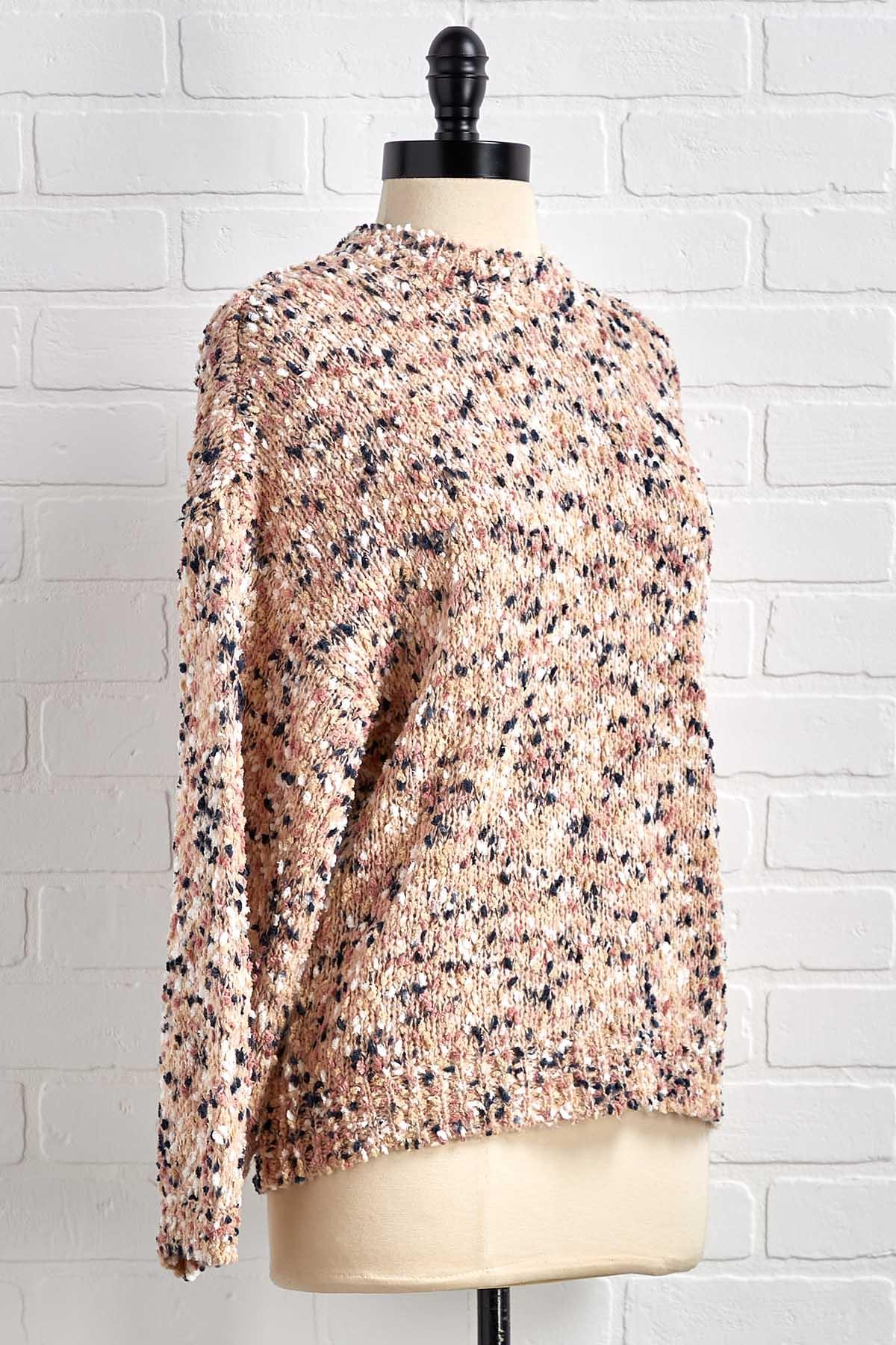 Rose ` Kind Of Day Sweater