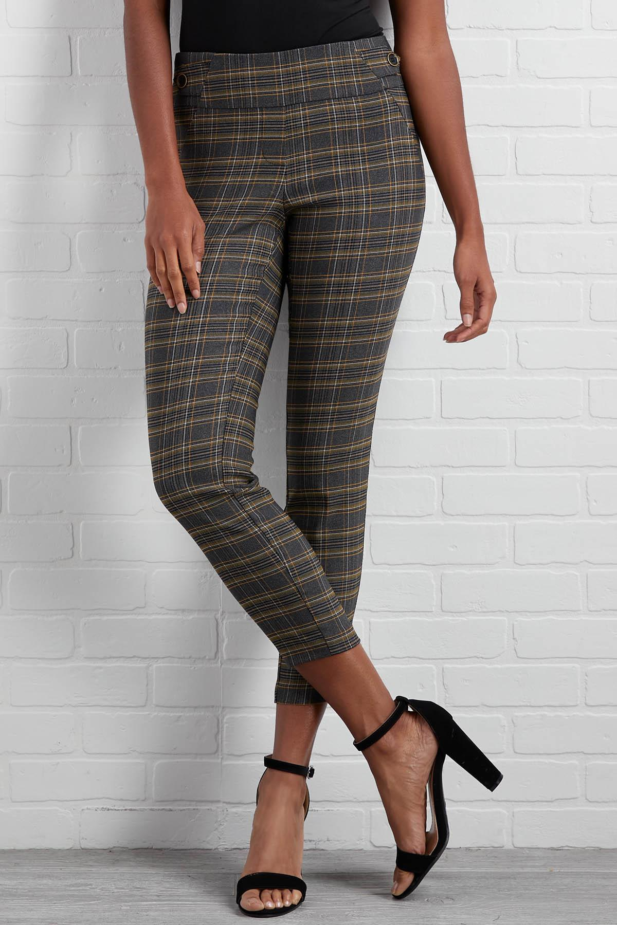 Plaid To See You Pants