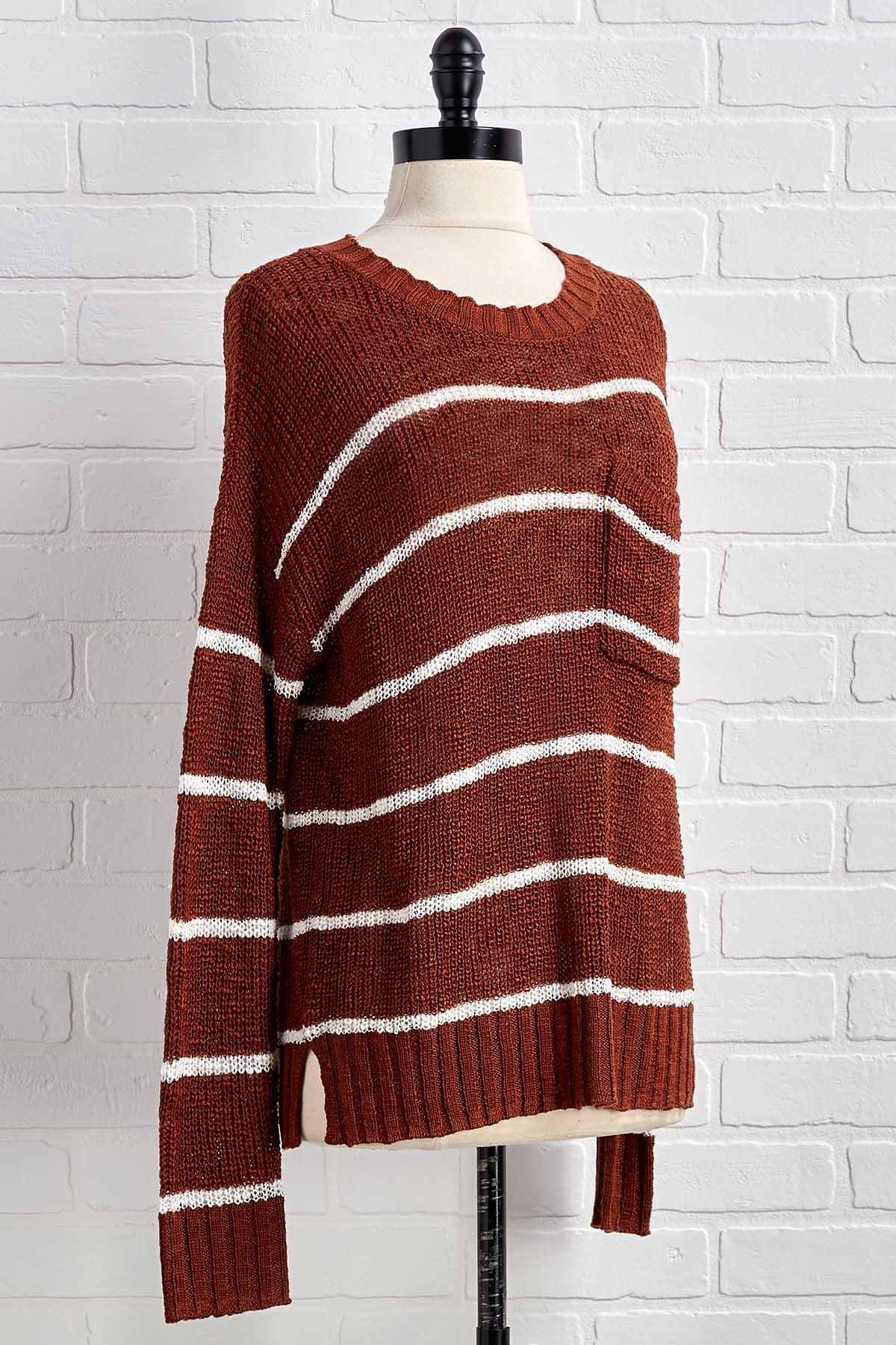Lean And Two Toned Sweater
