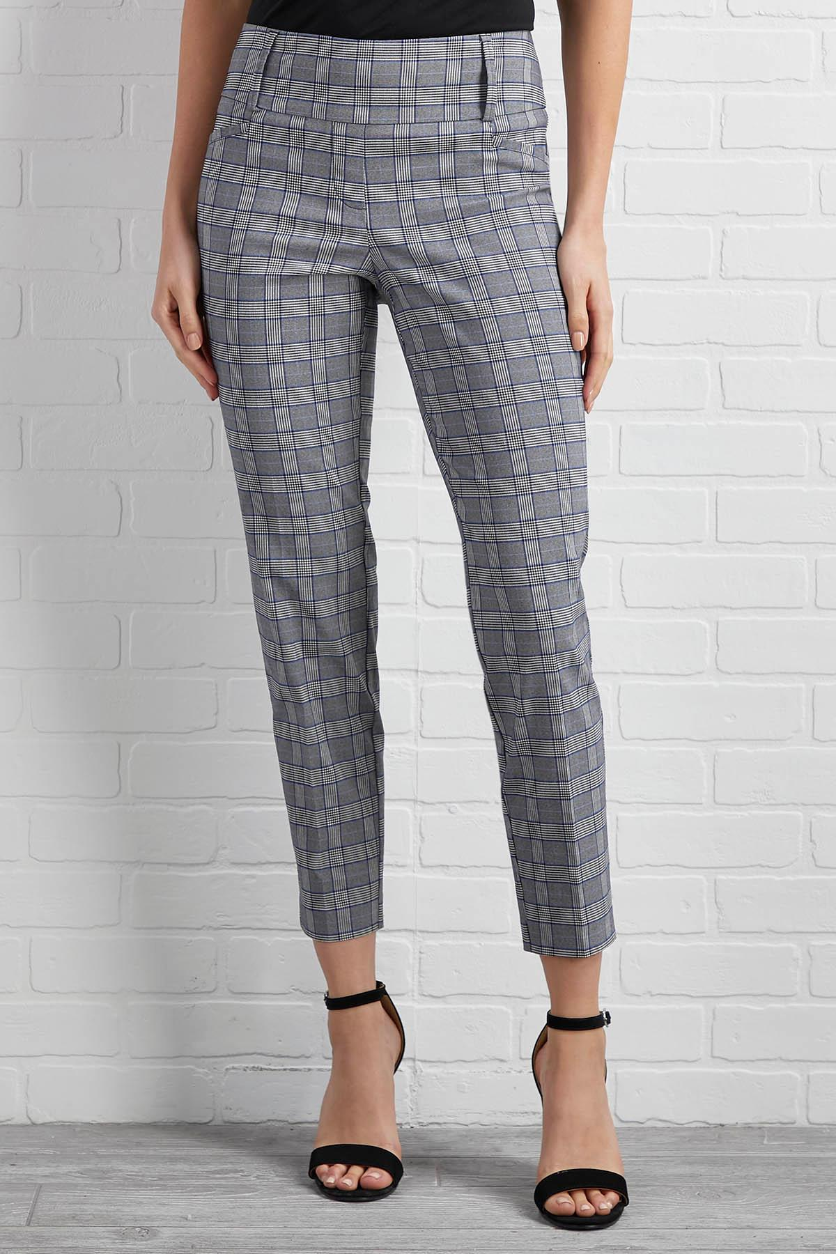 Plaid To Meet You Pants