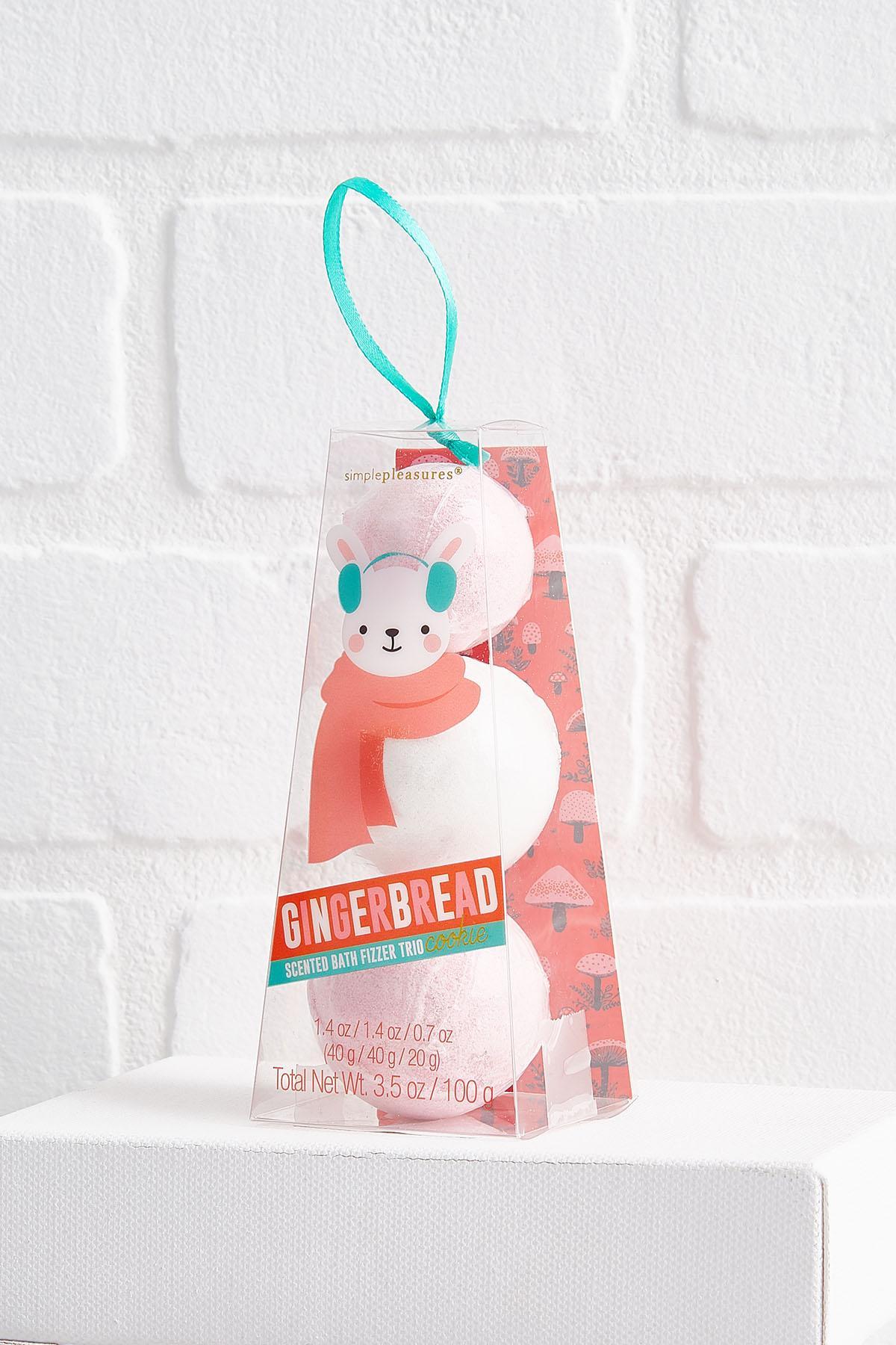 Gingerbread Bunny Bath Fizz