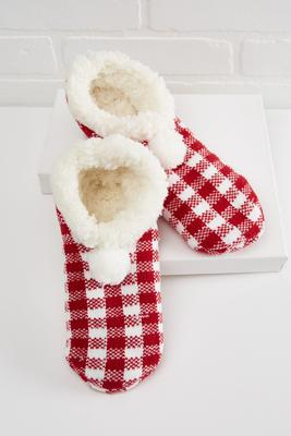 holiday slipper socks