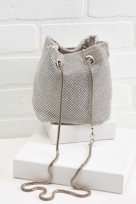 silver lining shoulder bag