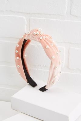 pearls rule headband