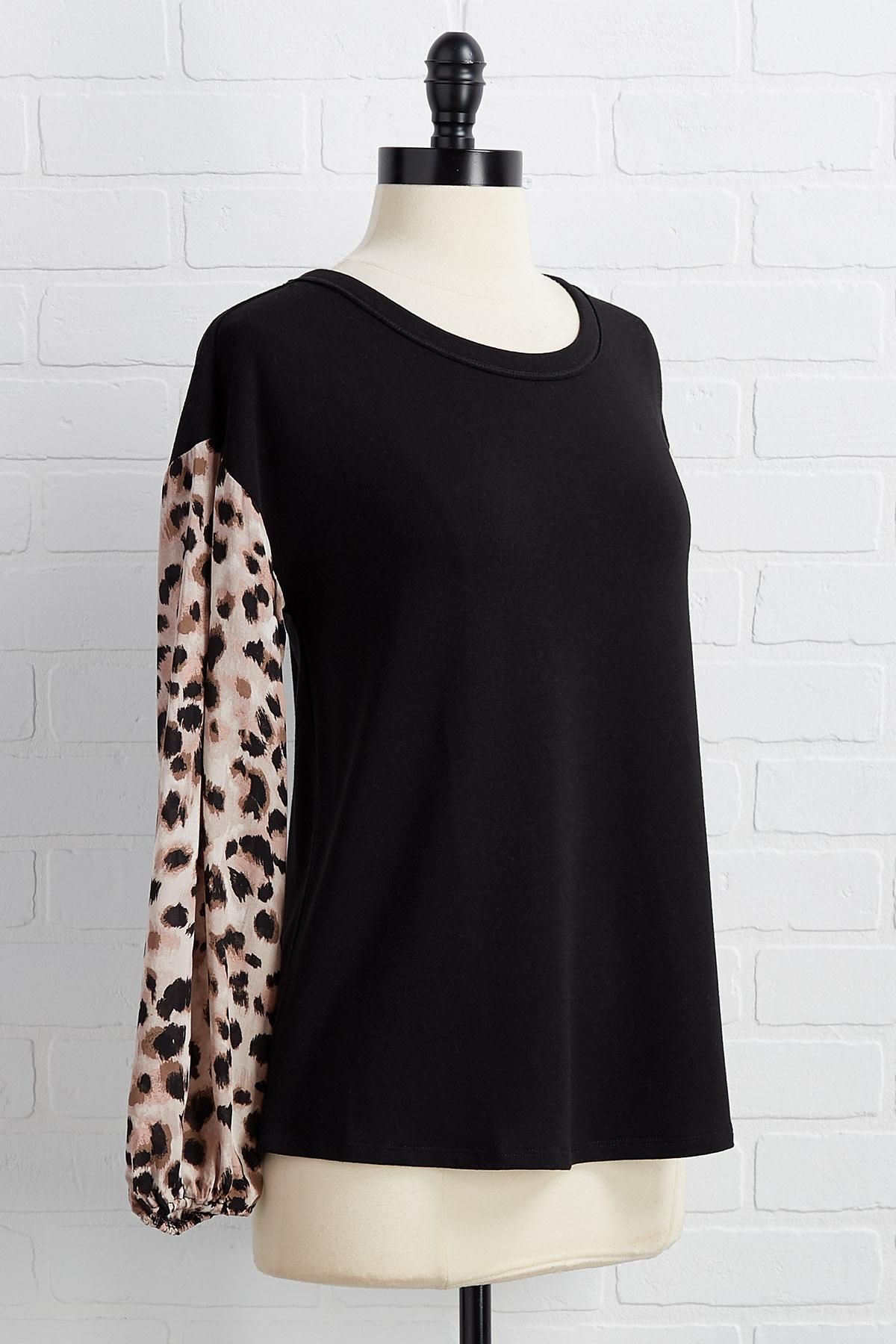 First To Sleeve Top
