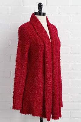 mrs claus cardigan