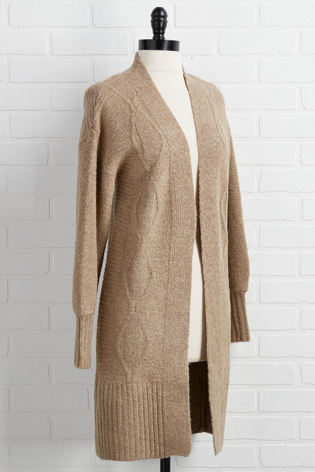 Believe Knit Or Not Cardigan