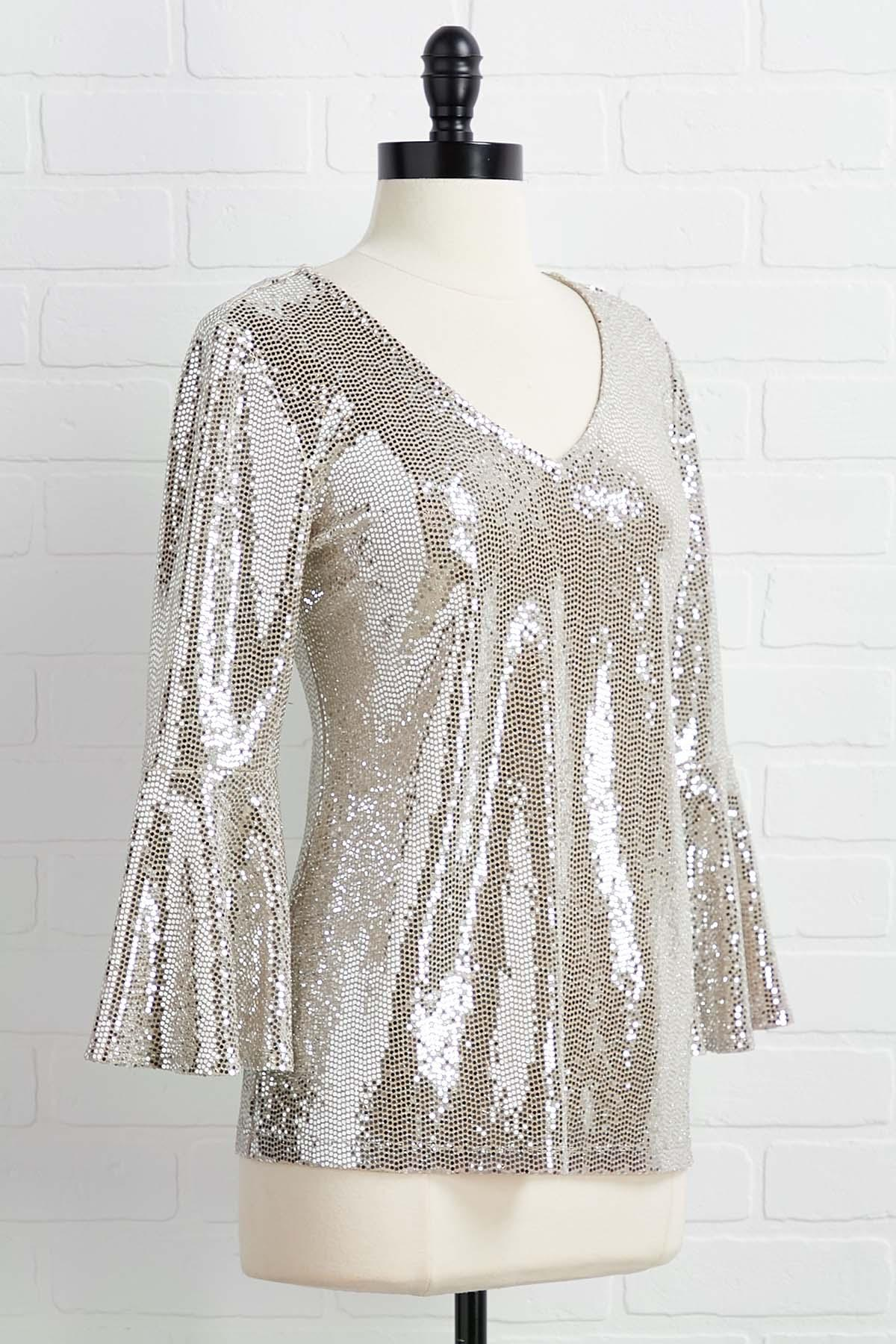 Bling In The New Year Top