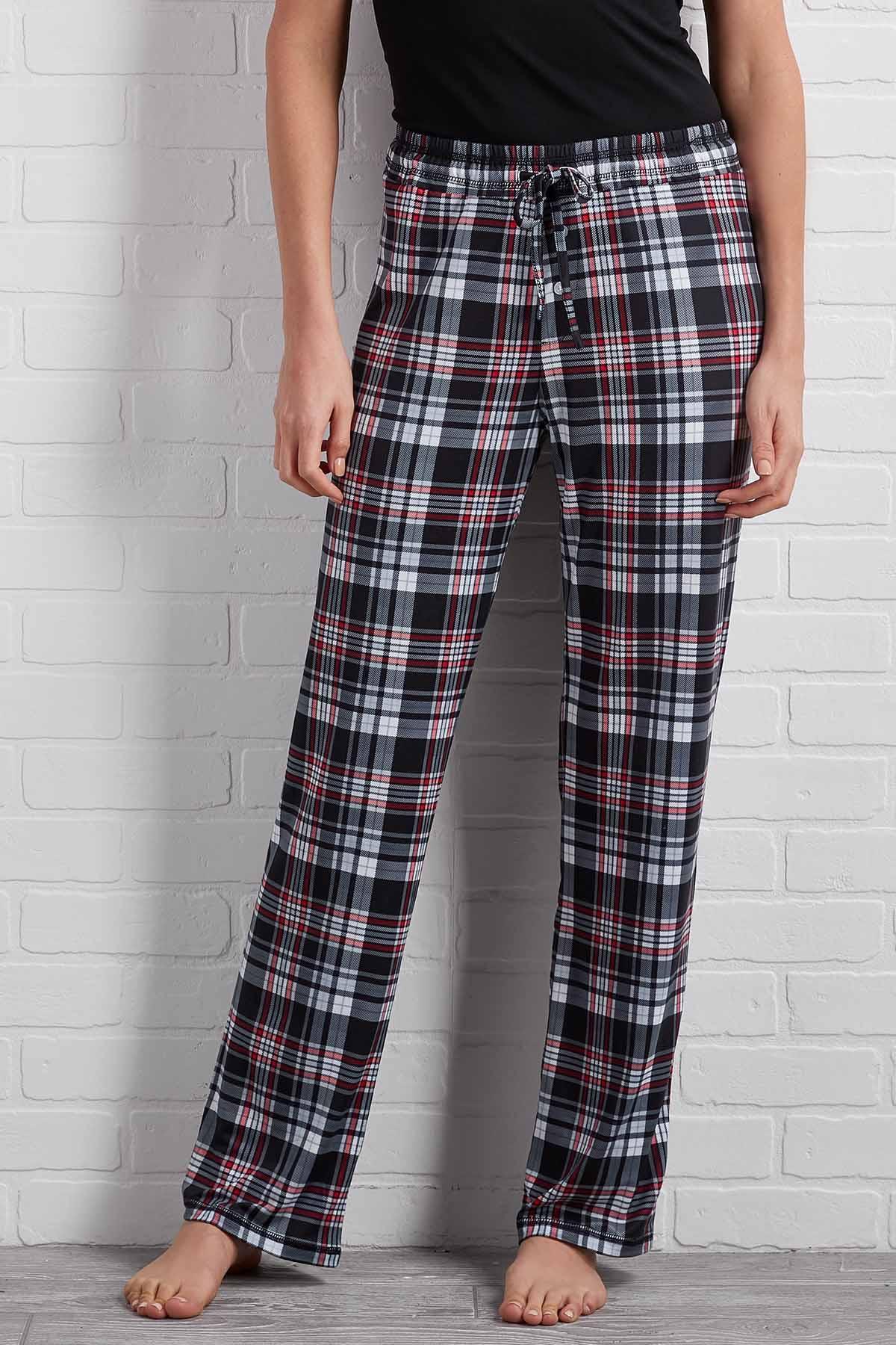 Cozy Plaid Sleep Pants