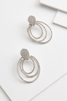 gradual oval earrings