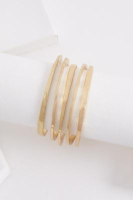 sliced bangle set