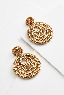 holiday glam earrings