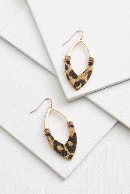 fur animal earrings