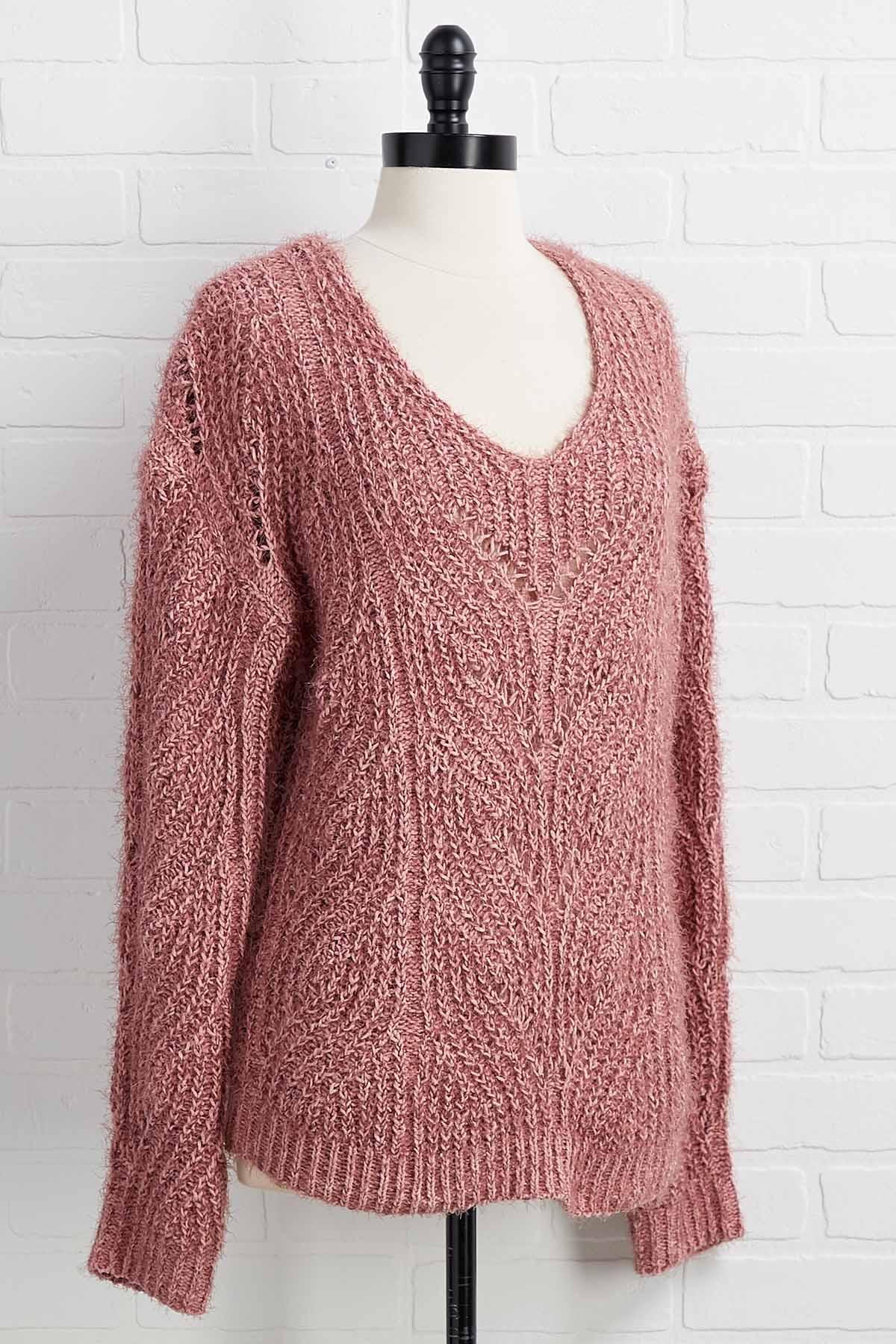 Knit Back And Watch Sweater
